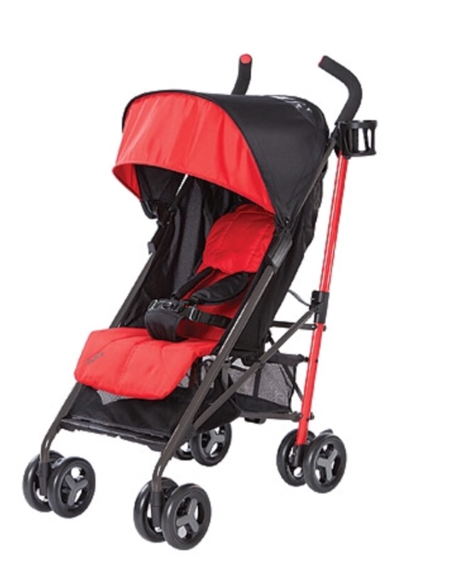 Zobo Bolt Lightweight Stroller Red Hibiscus And Azure Sale 35 99